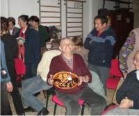 Scuola di patois di Salbertrand: festa per gli 88 anni di Oreste - clicca per ingrandire.