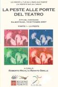 Libro in patois di Salbertrand dal titolo: La peste alle porte del teatro. Parte I – La Peste. Clicca per ingrandire la copertina. Il link aprir&agrave una nuova finestra del browser