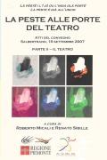 Libro in patois di Salbertrand dal titolo: La peste alle porte del teatro. Parte II – Il Teatro. Clicca per ingrandire la copertina. Il link aprir&agrave una nuova finestra del browser