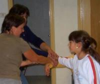 Scuola di patois di Salbertrand: lezioni di danza - clicca per ingrandire.