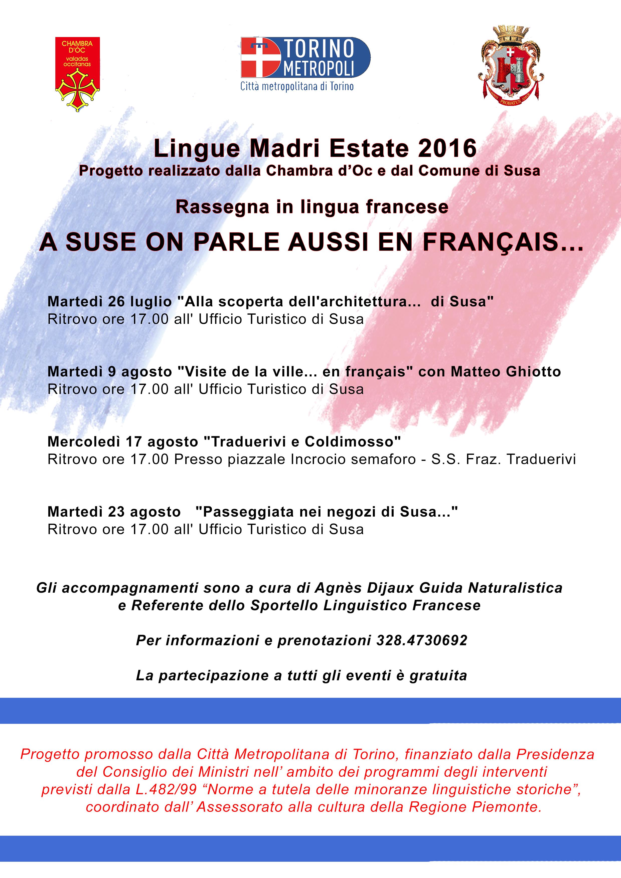 Susa Lingue Madri Estate 2016
