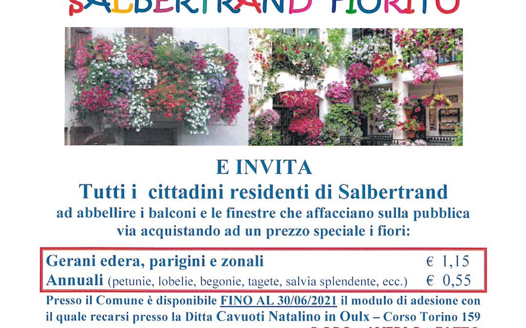 """XIV EDIZIONE DI """"SALBERTRAND FIORITO"""""""